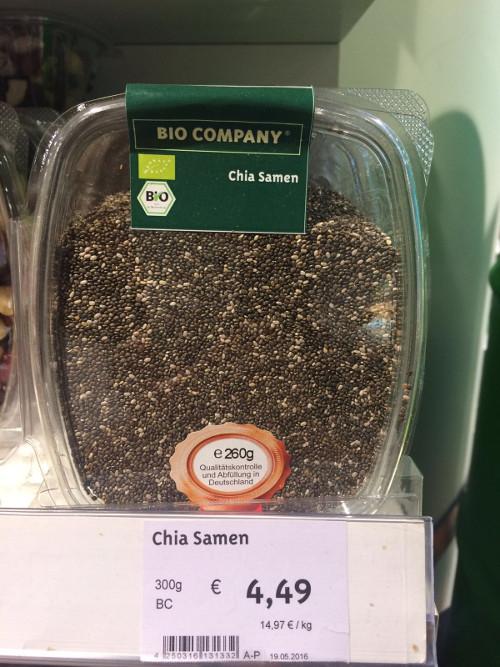 Chiasamen bei Bio Company
