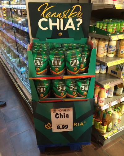 Edeka: Naduria Chia Vegan, 500 Gramm, 8,99 €
