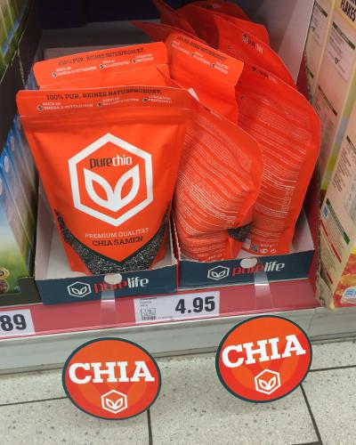 Netto: PureChia, 400g, 4,95 €